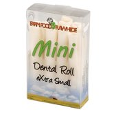 Rawhide dental roll extra small
