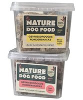Nature Dog Food gevriesdroogde snacks