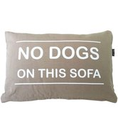 No dogs on this sofa